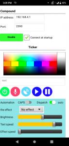 pixel led wifi controller app