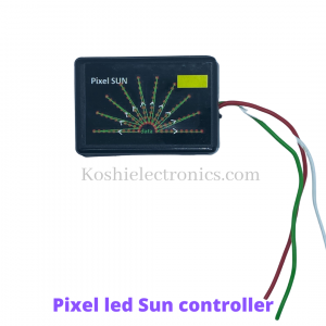 Pixel led Sun controller