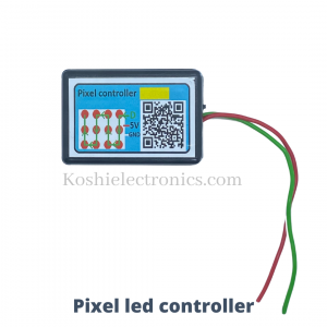 Pixel led controller for Temple