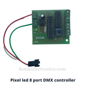 Parallel controller with DMX (Multiport Output )