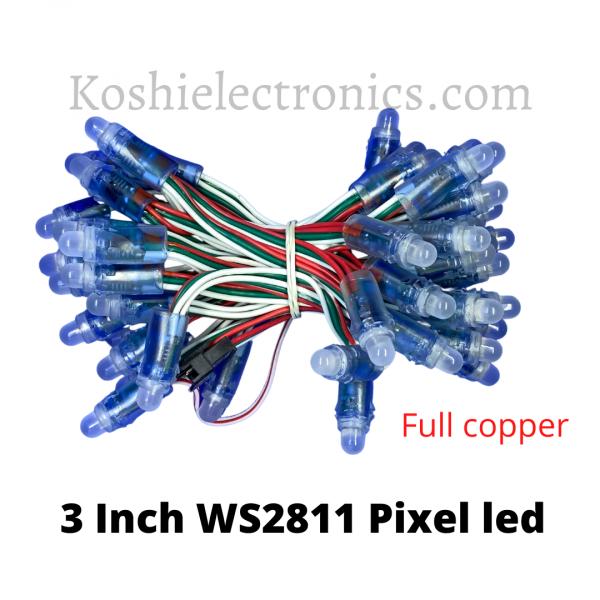 3 Inch WS2811 Pixel led