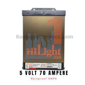 5 volt 70 amp Rainproof SMPS
